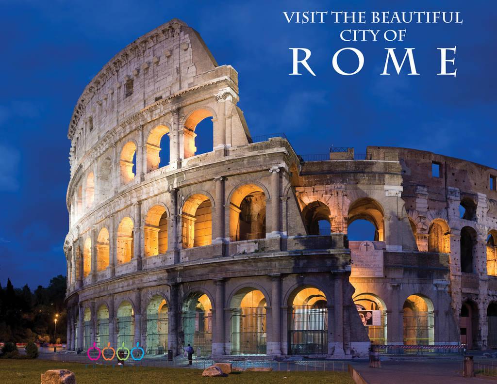 Rome Brochure Design 1 by ZeroChanges