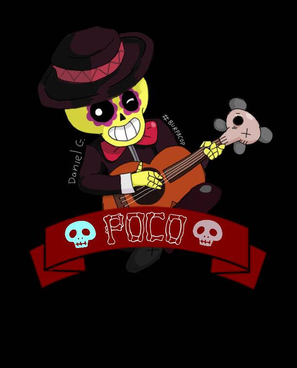 Brawl Stars poco fanart by trashdraws8 on DeviantArt