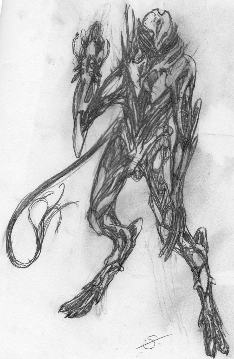 Alien Soldier by Sarta...