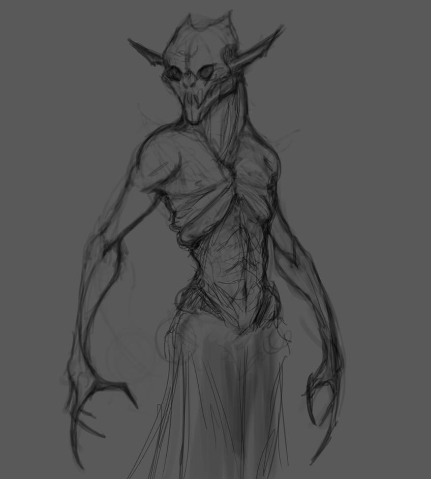 Vampyre Sketch by Sartanis