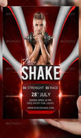 Disco Shake Party Flyer Template