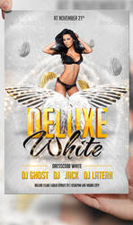 Deluxe White Flyer Template by LordFiren