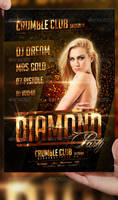 Diamond Nightclub Flyer Template