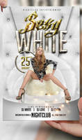 Sexy White Flyer Template
