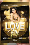Love Me Flyer Template