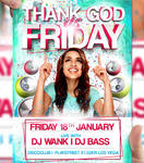 Thank God its Friday Flyer Template
