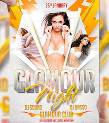 Glamour Night Flyer Template