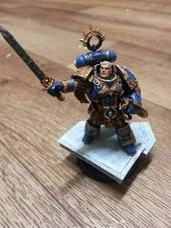 Roboute Guilliman - Primarch of the Ultramarines by RayMax90