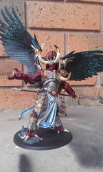 Magnus the Red - Daemon Primarch by RayMax90