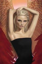 Angel by Kaytcatz