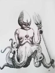 Octopus Warrior by Kaytcatz