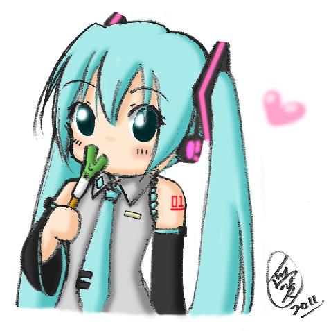 Miku_Ice-cream by AmazingPink