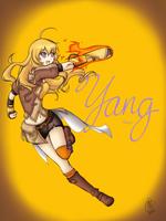 RWBY_Yang by AmazingPink