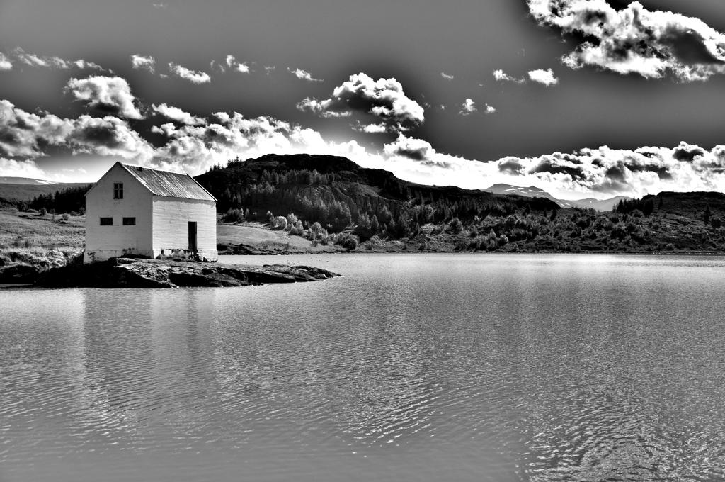 A house on the lake by Matus76