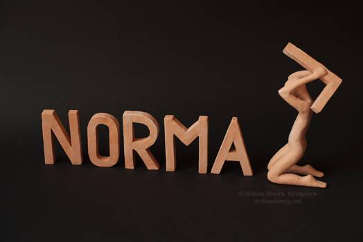 100% human, 100% abnormal.