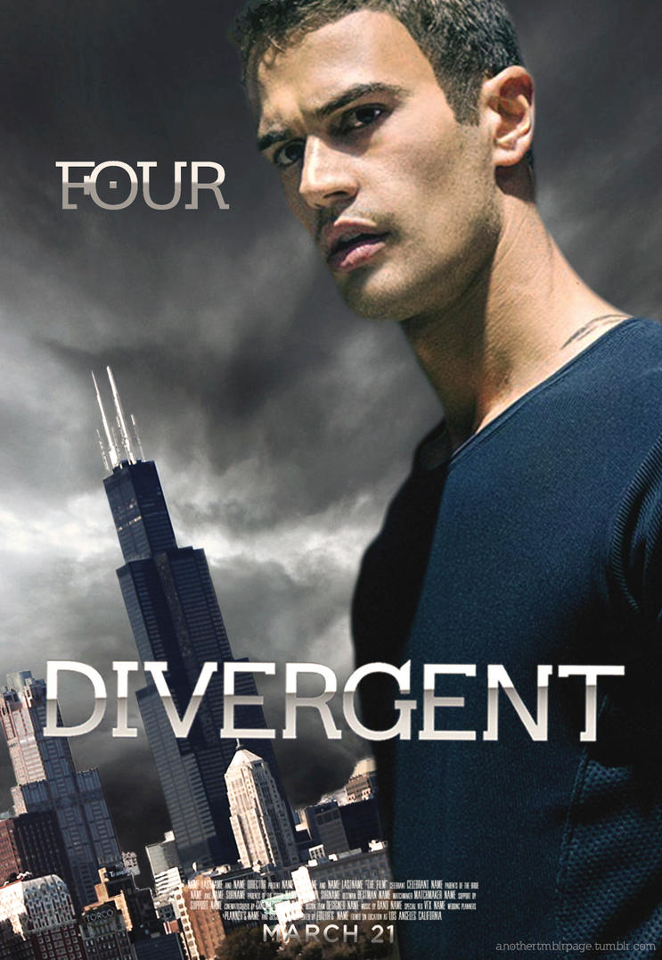 divergent four movie poster - photo #22