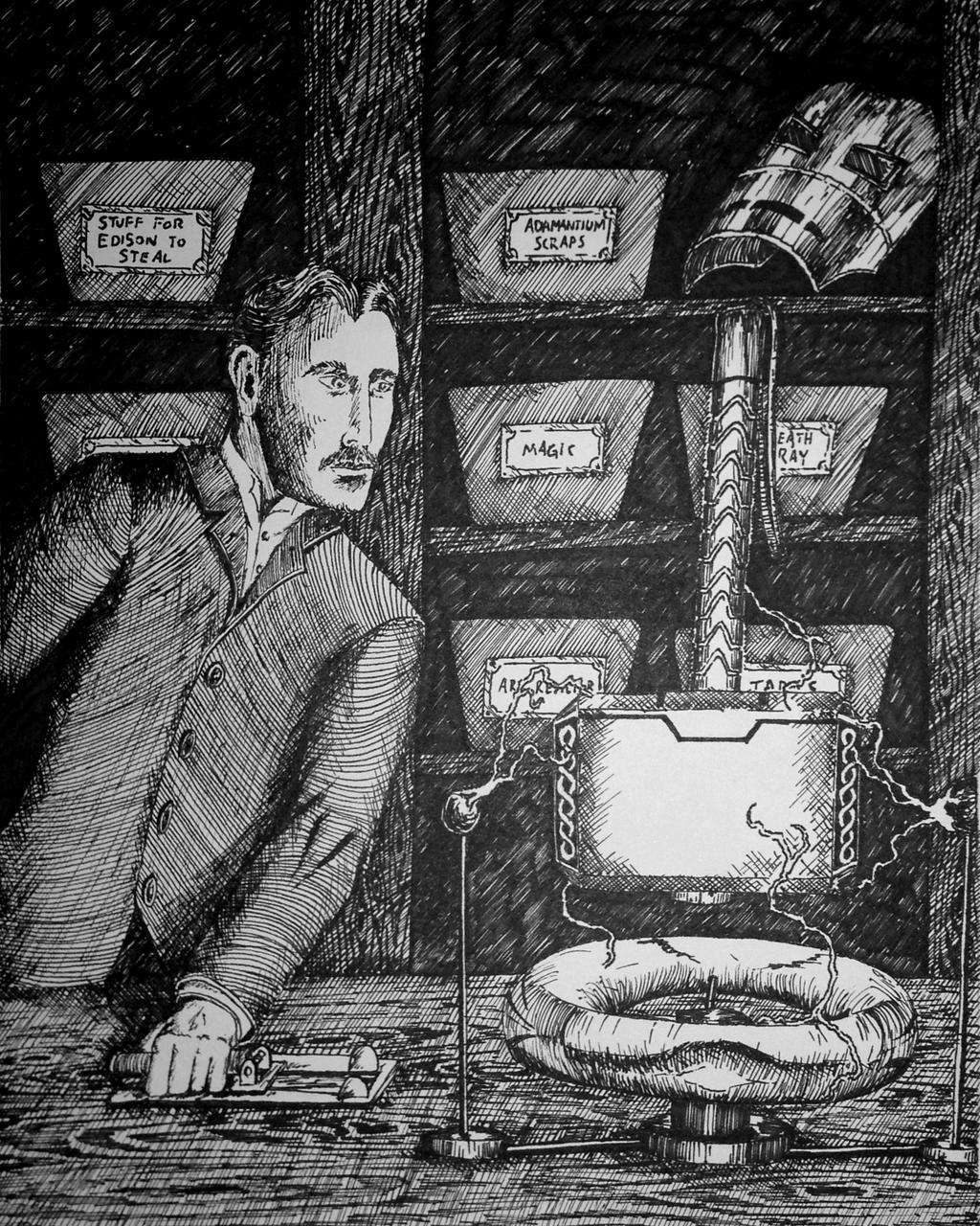 Nikola Tesla Wallpapers 35 Wallpapers: The Marvelous Works Of Nikola Tesla By DestroyingAngel23
