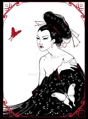 The Moth Lady