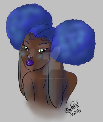 Blueberries by GrumpySkunk