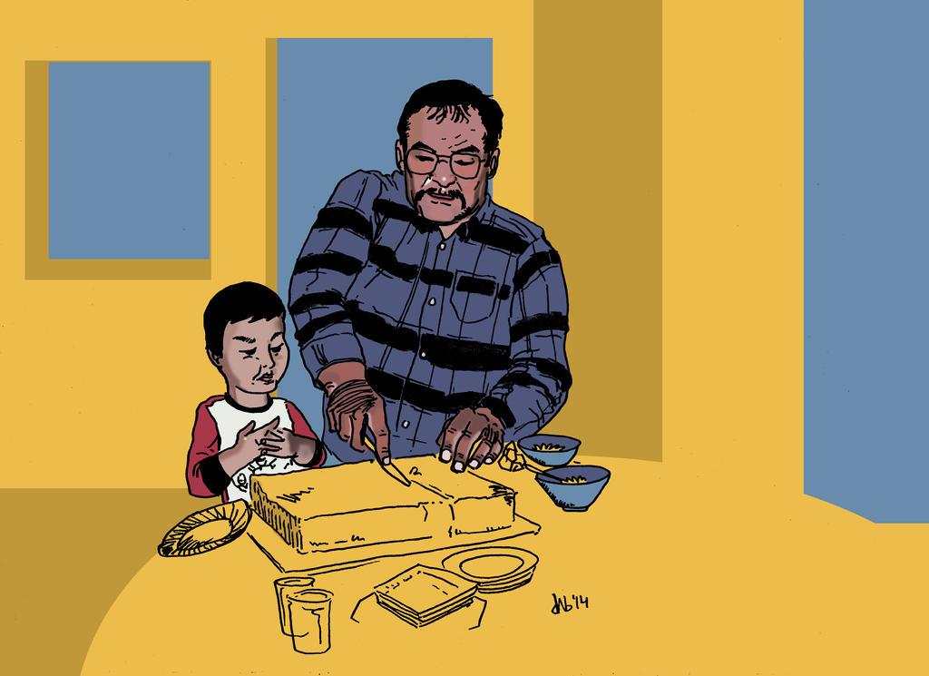 Grandpa And Me by 92KICKSTART