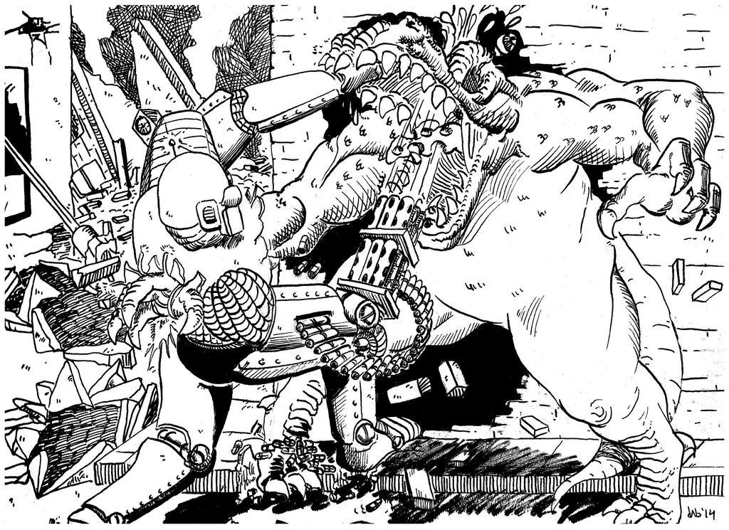 Kill The Dino by 92KICKSTART