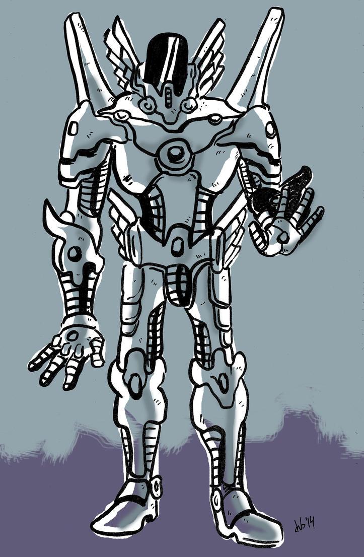 Angel Bot by 92KICKSTART