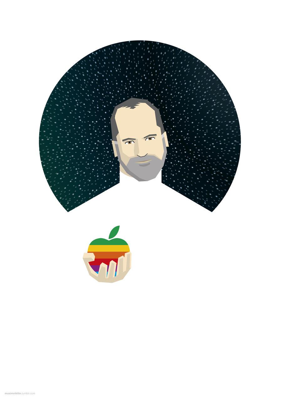 Steven Jobs by maximnikitin