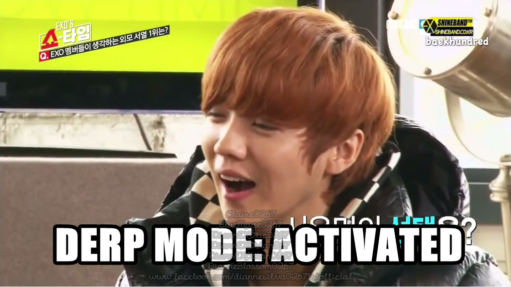appreciation luhan acknowledges his derp face