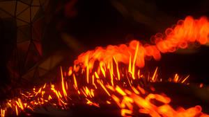 Cyber fire (4k) [raw render] by jeka-9
