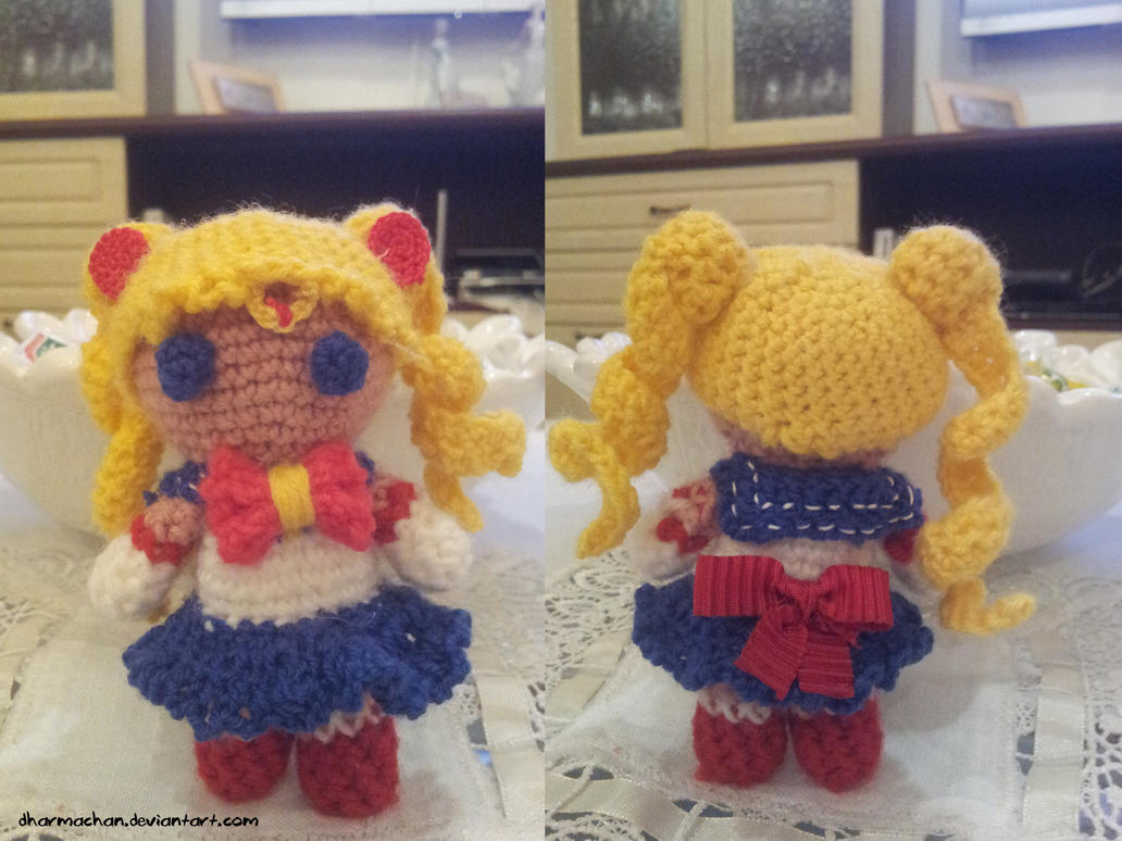 Moon Amigurumi Pattern Free : Sailor Moon Amigurumi by Dharmachan on DeviantArt