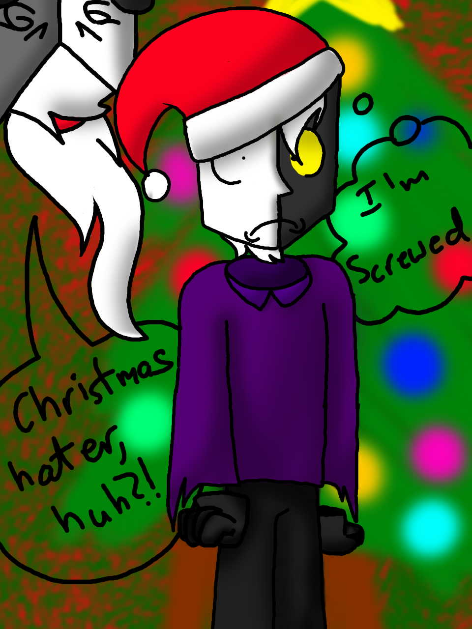 Christmas Hater.Christmas Hater Huh By Yogfan On Deviantart