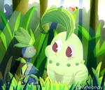 Pokemon-The oddish proposal by KingNeonHappy