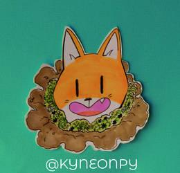Fox! by KingNeonHappy