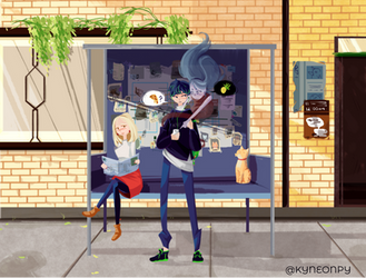 Ghost food by KingNeonHappy