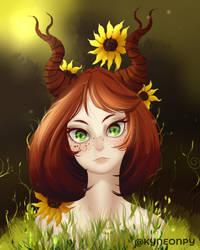 Sunflower - Drawthisinyourstyle by KingNeonHappy