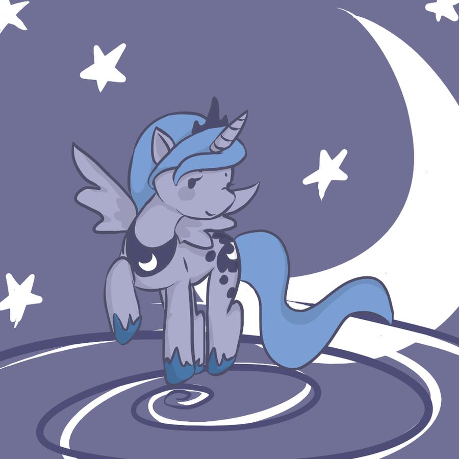 Princess Luna by purpletanookisuit
