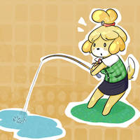 Isabelle by purpletanookisuit