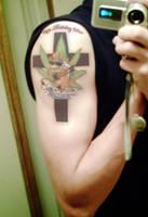 Whitest Kids Bowser Tattoo by Ixododae