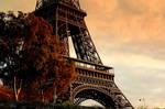 Eiffel Sunset