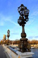 Bridge lampposts