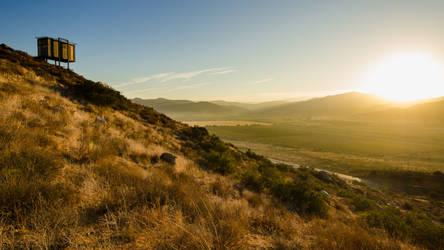 Sunrise in Valle de Guadalupe Baja California