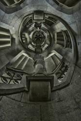 Porte de Hal escalier HDR