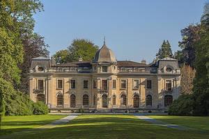 Chateau d'Enghien dos HDR
