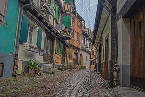 Village Alsace HDR