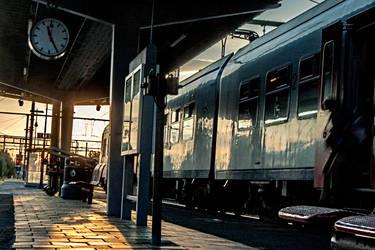Gare Enghien Long Exposure 01