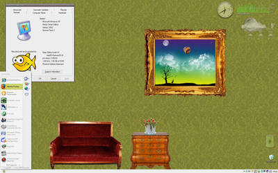 Sweet Home Desktop by dasmurphy