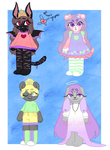 Adopts Round 8 [1/4 OPEN] by heart-potions