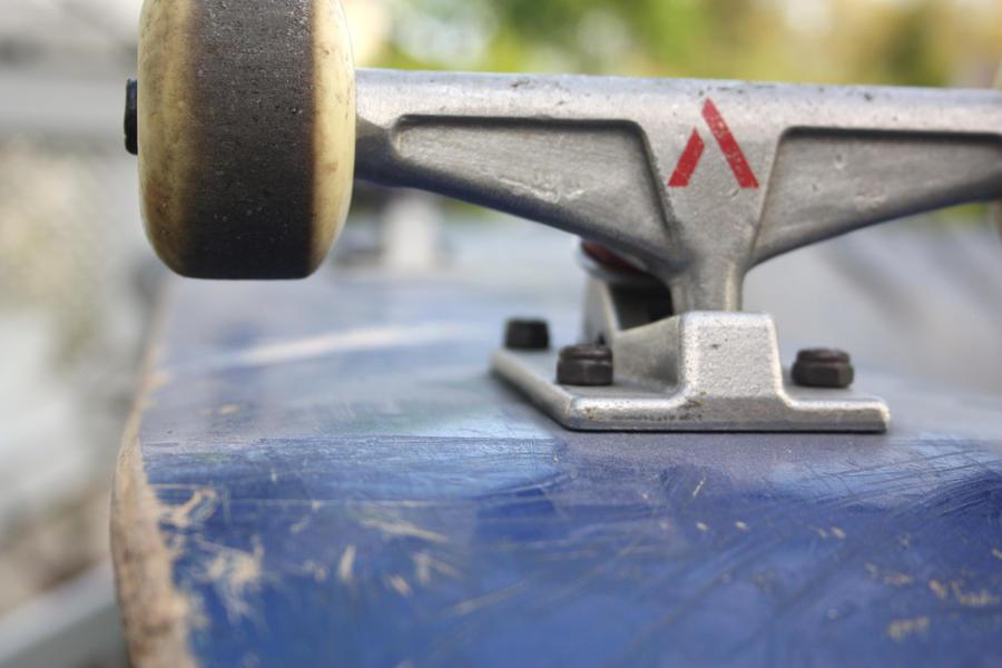 Skateboard by FrankTheSixFootBunny