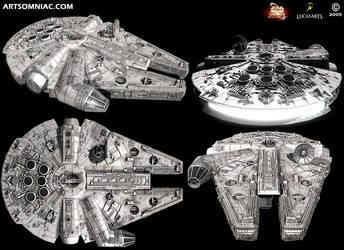 Star Wars Galaxies millennium falcon