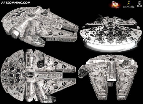 Star Wars Galaxies millennium falcon
